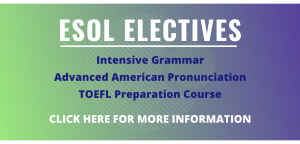 Click for info about ESOL electives