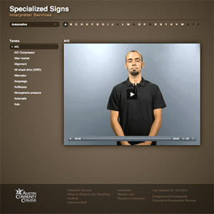 Specialized Signs screenshot