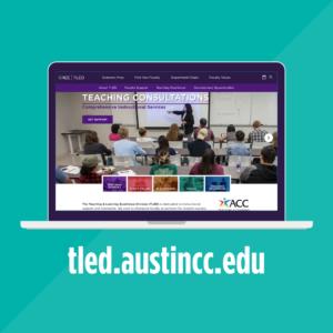 tled.austincc.edu on laptop