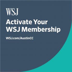 wsj activate your wsj membership wsj.com/austincc