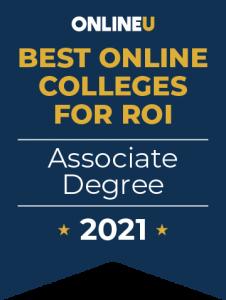 online U best online colleges for ROI associate degree 2021