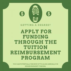 Apply for Funding Through the Tuition Reimbursement Program