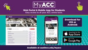 MyACC Web portal & mobile app for students