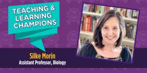 Silke Morin, Assistant Professor of Biology