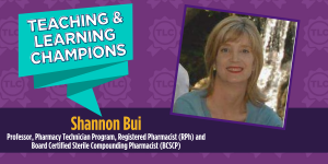Teaching & Learning Champion Shannon Bui